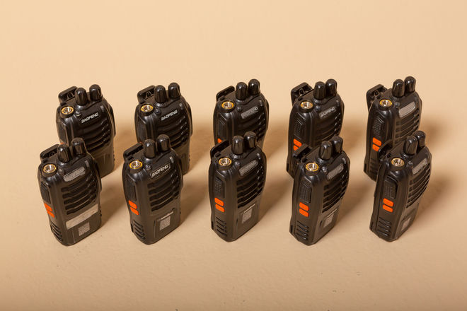 20 Walkie Talkies with Headsets
