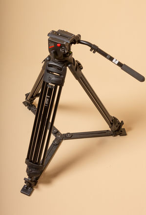 Manfrotto 503 Fluid Head with Sticks and Spreaders