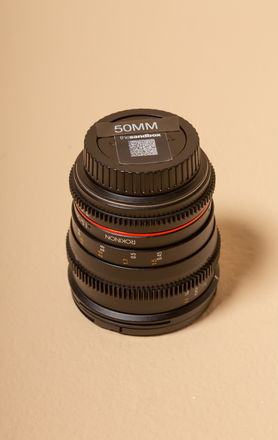 Rokinon 50mm EF Prime Lens