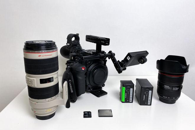 Canon C200 Documentary / Cinema Kit 4k