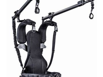 Rent: Ready Rig GS Gimbal Support Stabilizer + Pro Arms + spindles