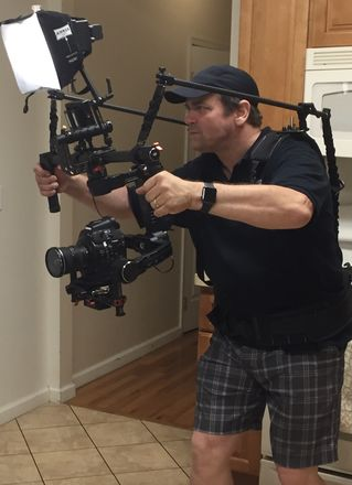 DJI Ronin + Ready Rig + SmallHD DP4 monitor w/ delivery*