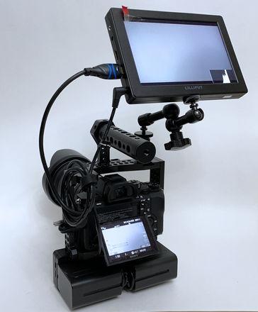 "Lilliput A7S 7"" Field Monitor + Batteries/Accessories"