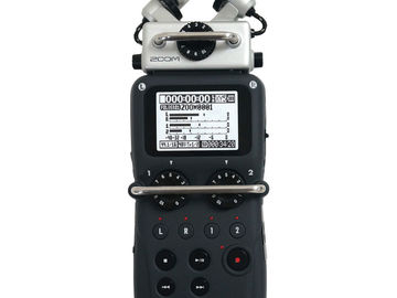 Rent: AUDIO PACKAGE: Zoom H5, AT897 Shotgun, Senn. G2 LAV