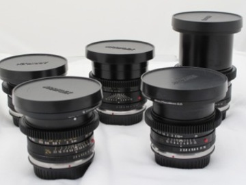 Rent: Leica-R Prime 7 Lens Set w/ EF Mount and Cine Mod