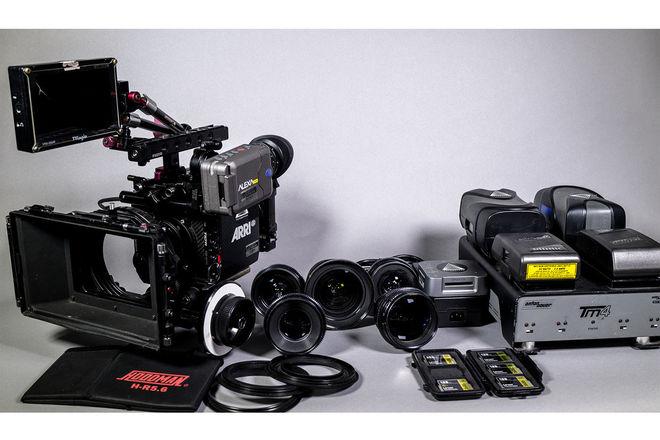 ARRI Alexa Mini Camera Package + Canon K35 Primes + Oconnor