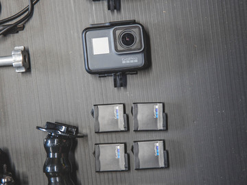 Rent: 2 Camera Gopro 5 Black Kits