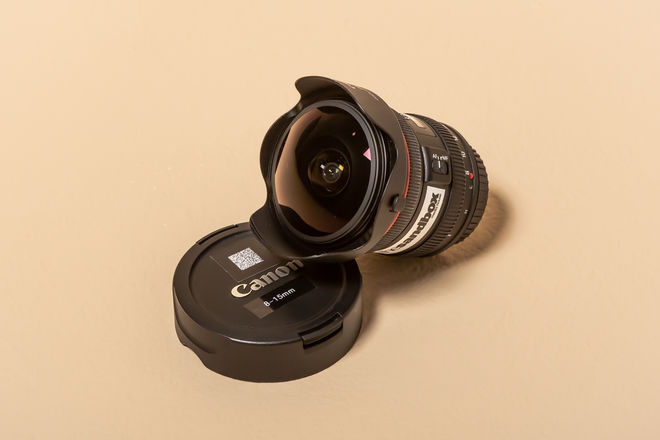 Canon 8-15mm Wide Zoom/Fisheye
