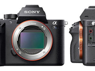 Sony A7s II W/ Lens and 128 gig Card and Canon Adapter