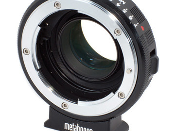 Rent: Metabones BMCC Speedbooster (Nikon to MFT)