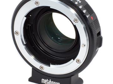 Rent: Metabones BMCC Speedbooster (Nikon to MFT)