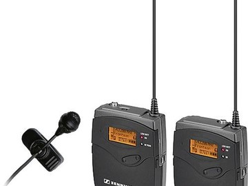 Rent: 2 Wireless Sennheiser G Series kit