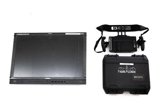 """SmallHD 703 Bolt + Teradek 500 Kit + Flanders 24"""" Monitor"""