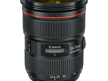 Rent: Canon 24-70mm and 70-200mm F/2.8 L Series Lenses