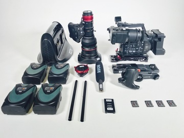 Rent: SONY FS7, CANON 17-120MM, (COMPLETE PACKAGE 1 of 5)