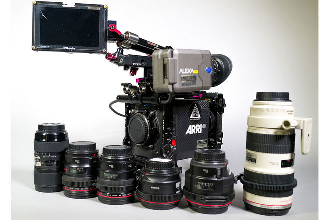 ARRI Alexa Mini INDIE PACKAGE with 6-Lens Canon EF Glass