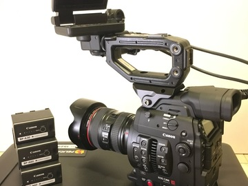 Rent: Canon C300 mark II with 24-105mm f4 L series lens