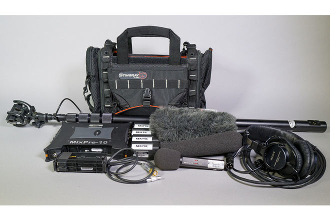 Sound Devices 10T SILVER Audio Package