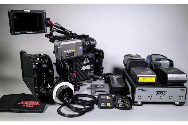 ARRI Alexa Mini Full Camera Package (4:3) + Oconnor Tripod