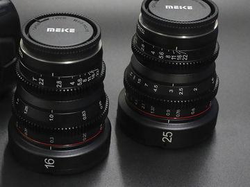 Rent:   Meike mft cinema primes  16mm and 25mm