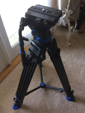 Benro S8 Dual Stage Video Tripod Kit
