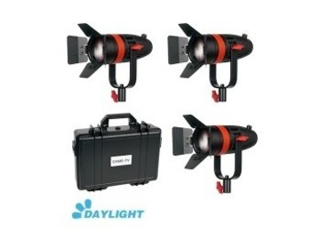Rent: Boltzen 55w Dimable Daylight LED light x3 kit