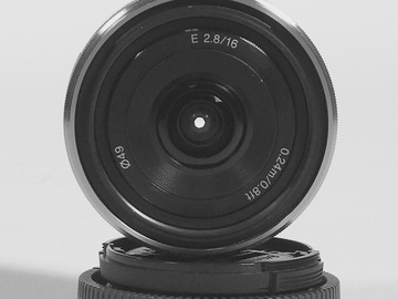 Rent: Sony E-Mount 16mm F2.8