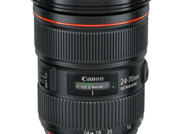 Canon 24-70mm F2.8 mark ii