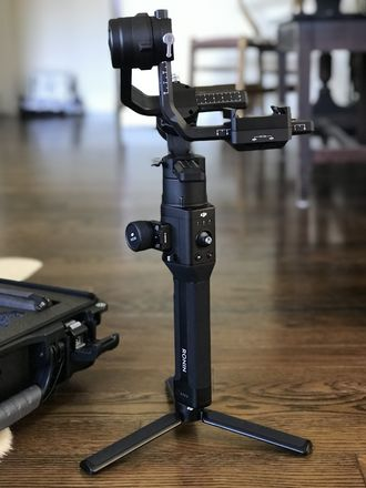 DJI Ronin-S w/ essentials + Pelican case