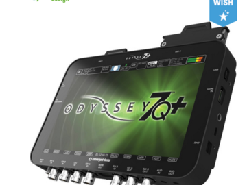 Convergent Design Odyssey7Q+ (w/ RAW license, media, reader)