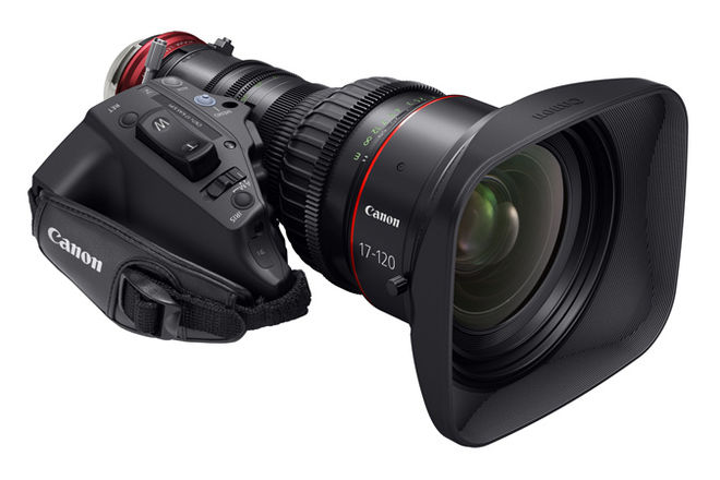 Canon CINE-SERVO 17-120mm T2.95-3.9 + D-Tap Power Cable