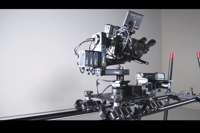 Kessler Shuttle Dolly with stands and rail