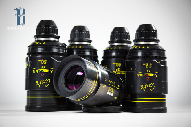 Cooke Anamorphic SPECIAL FLARE 5 Lens Set (32,40,50,75,100)
