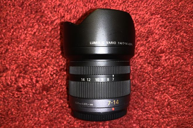 Panasonic Lumix G Vario 7-14mm f/4 Ultra Wide Angle MFT Lens