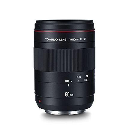 Yongnuo 60mm F2 Macro MF - Canon EF Mount