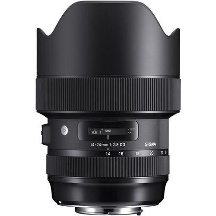 Sigma 14-24 2.8 DSG Art Lens - Canon EF Mount