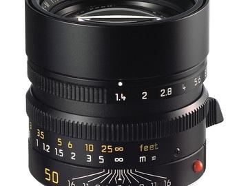 Rent: Leica Summilux 1.4 ASPH