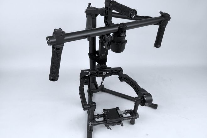 DJI Ronin 3-Axis Gimbal Stabilizer w/ CineMilled extensions