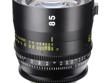 Rent: Tokina 85mm T1.5 Cinema Vista Prime Lens (EF)