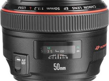 Rent: Canon EF 50mm f/1.2L USM Lens