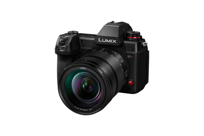 Panasonic Lumix  S1H w/ 24-105mm F4 - VariCam V-Log  DC-S1H
