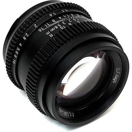 SLR Magic CINE 50mm F1.1 Lens in E Mount 52mm Variable ND Fi