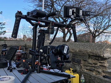 Rent: DJI Ronin 3-Axis Camera Gimbal Stabilizer w/ 2 Batteries
