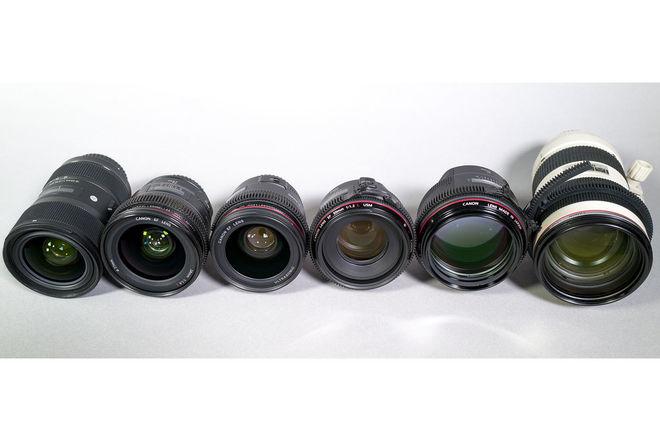 Canon 6-Lens Indie Set (L Series)