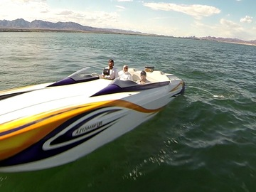 Rent: 28 ft Eliminator  Daytona speed boat