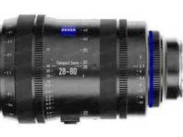 Rent: Zeiss 28-80mm T2.9 Compact Zoom CZ.2 Lens