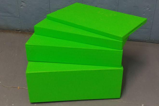 ChromaKey Green Apple Box Family