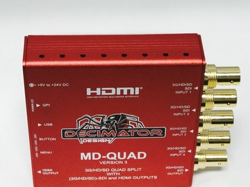 Rent: Decimator MD-Quad Split-- SDI and HDMI Outputs
