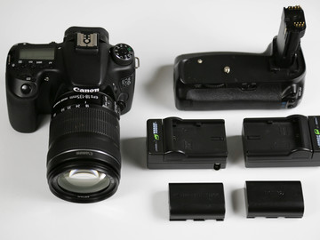 Rent: Canon EOS 70D Digital SLR Camera with 18-135mm STM Lens