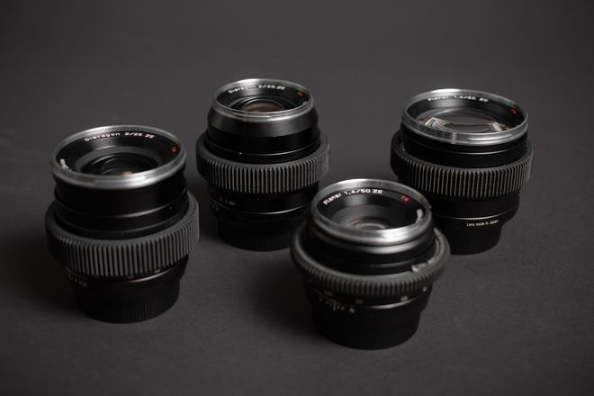 Zeiss ZE Prime Lens Set (25,35,50,85)